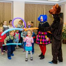 Детская интерактивная развлекательная программа