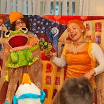 """Детский кукольный спектакль """"Кукольный концерт или Волшебное Шоу Эльфов"""""""