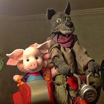 """Детский кукольный спектакль """"Три поросёнка"""""""